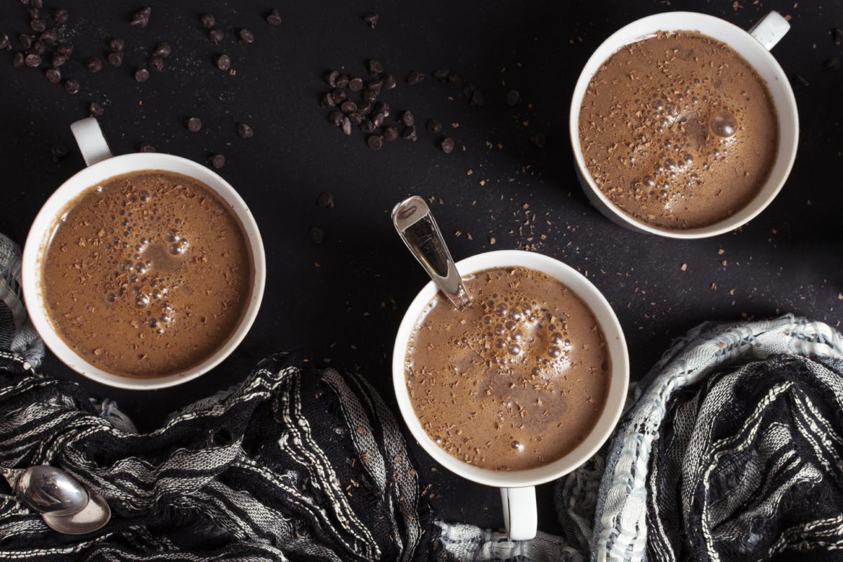 Navratri special drinks- hot chocolate
