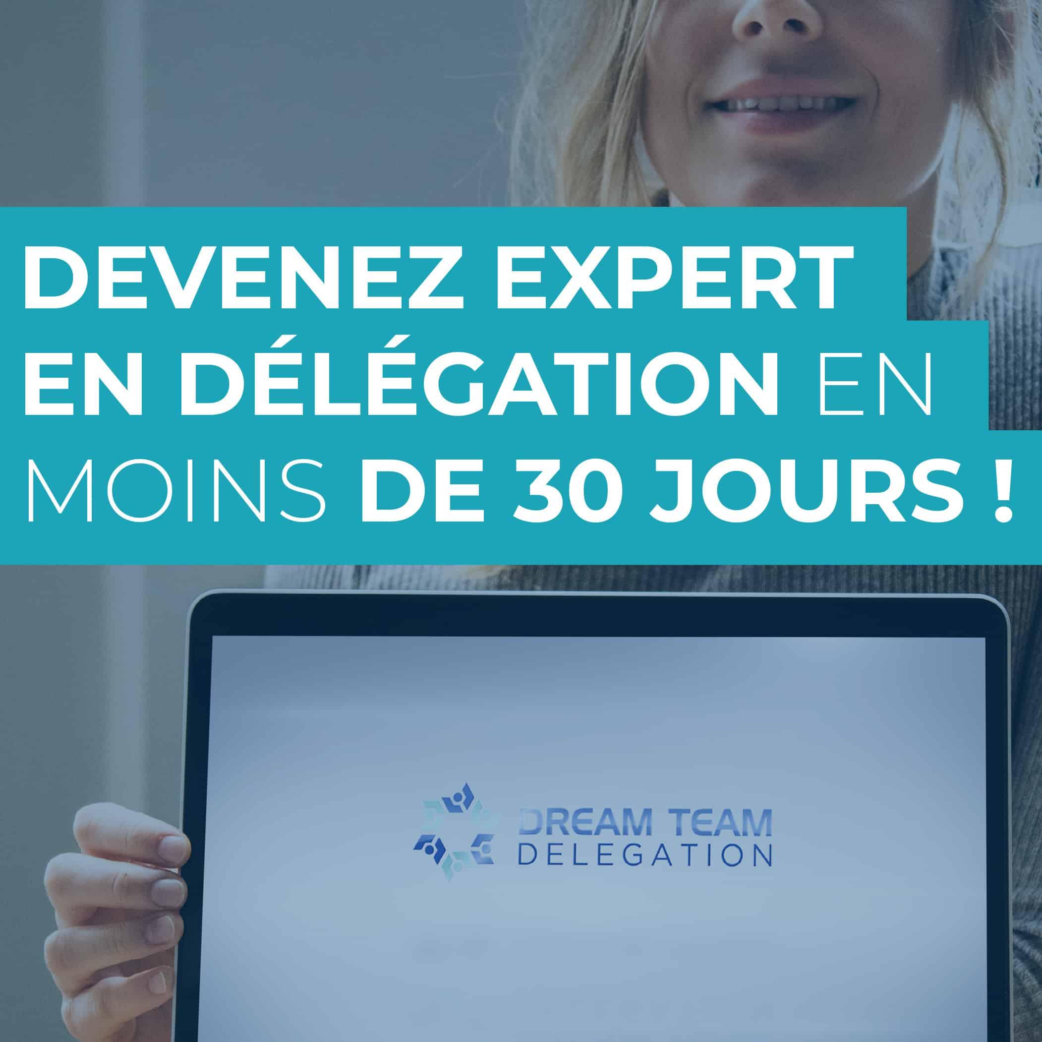 Devenez un expert en délégation et externalisation en moins de 30 jours avec la formation DTD