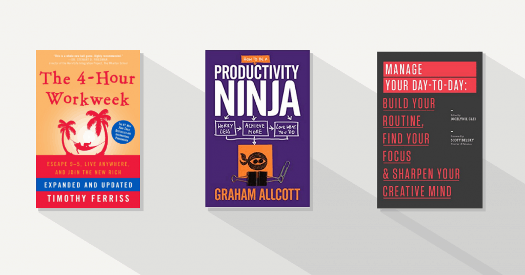 Best productivity books in productivity and time management tactics