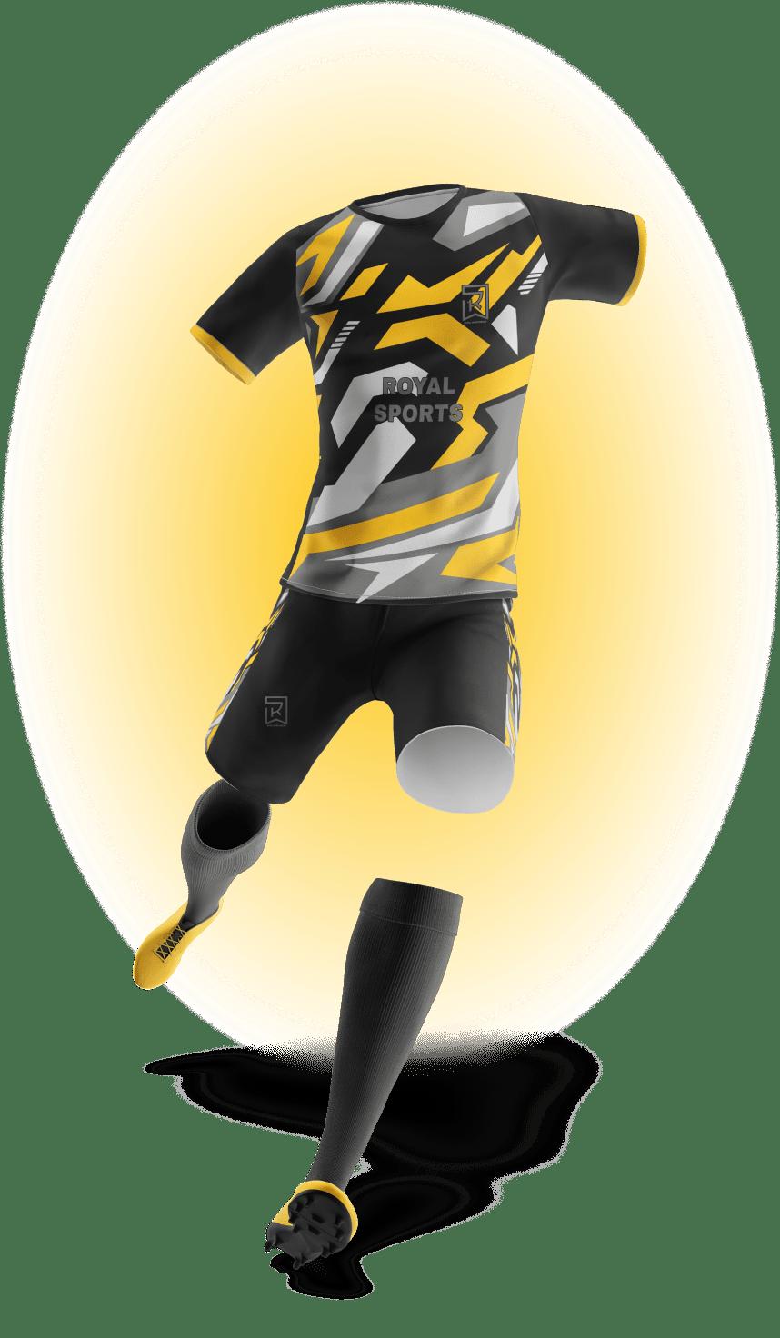 Image of full sportswear mockup