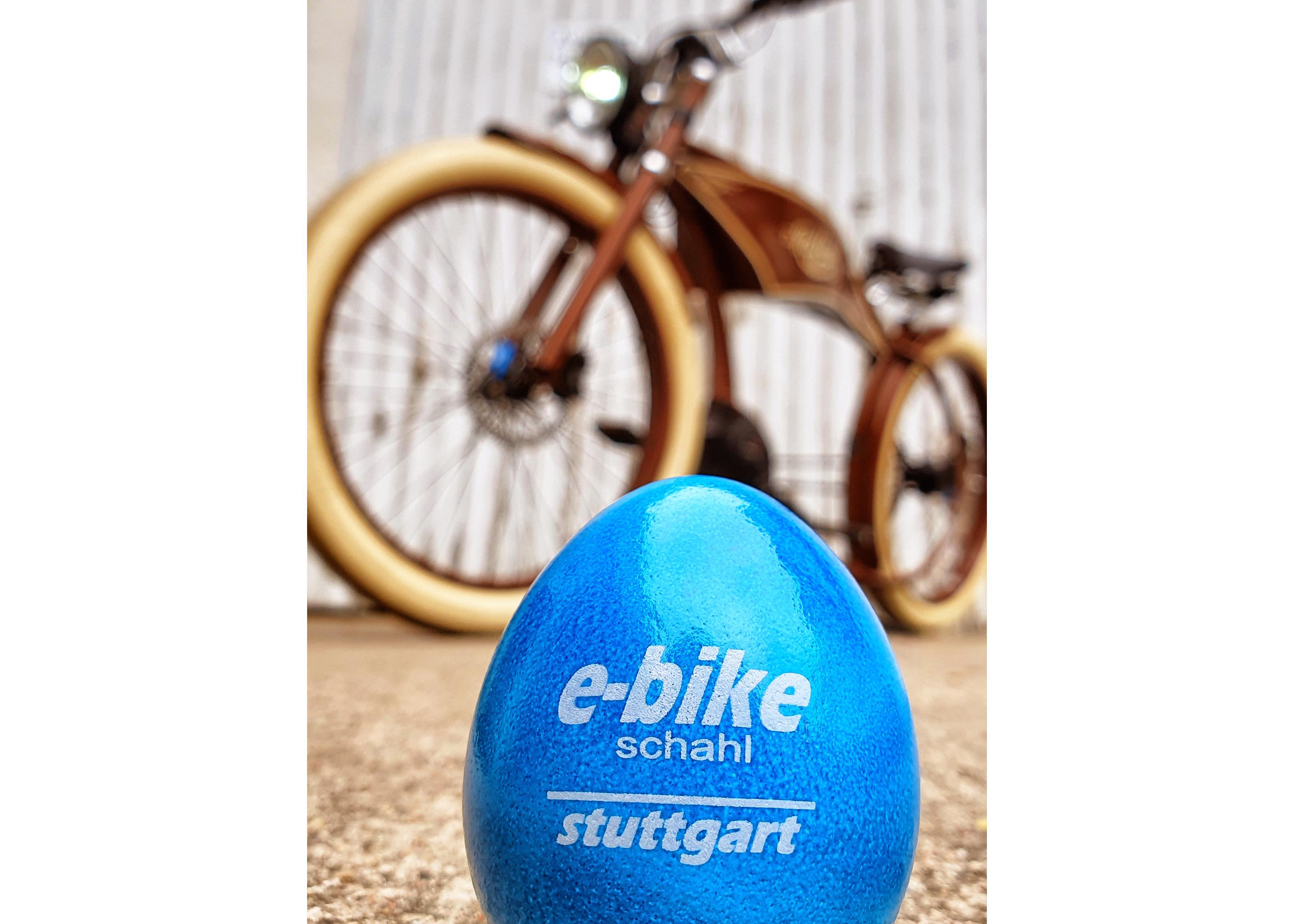 e-bike schahl wünscht frohe Ostern