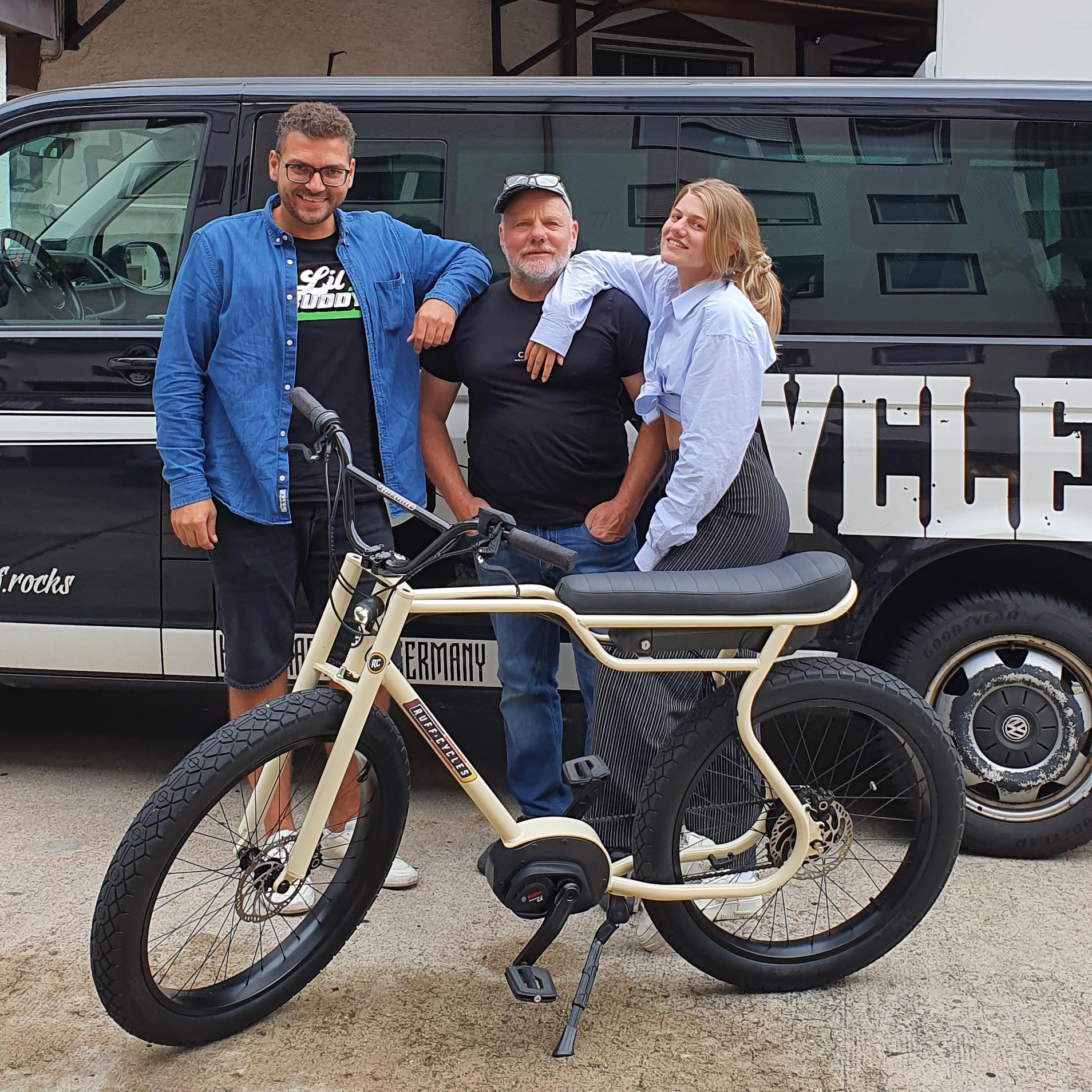 Biggie zu Besuch bei e-bike schahl