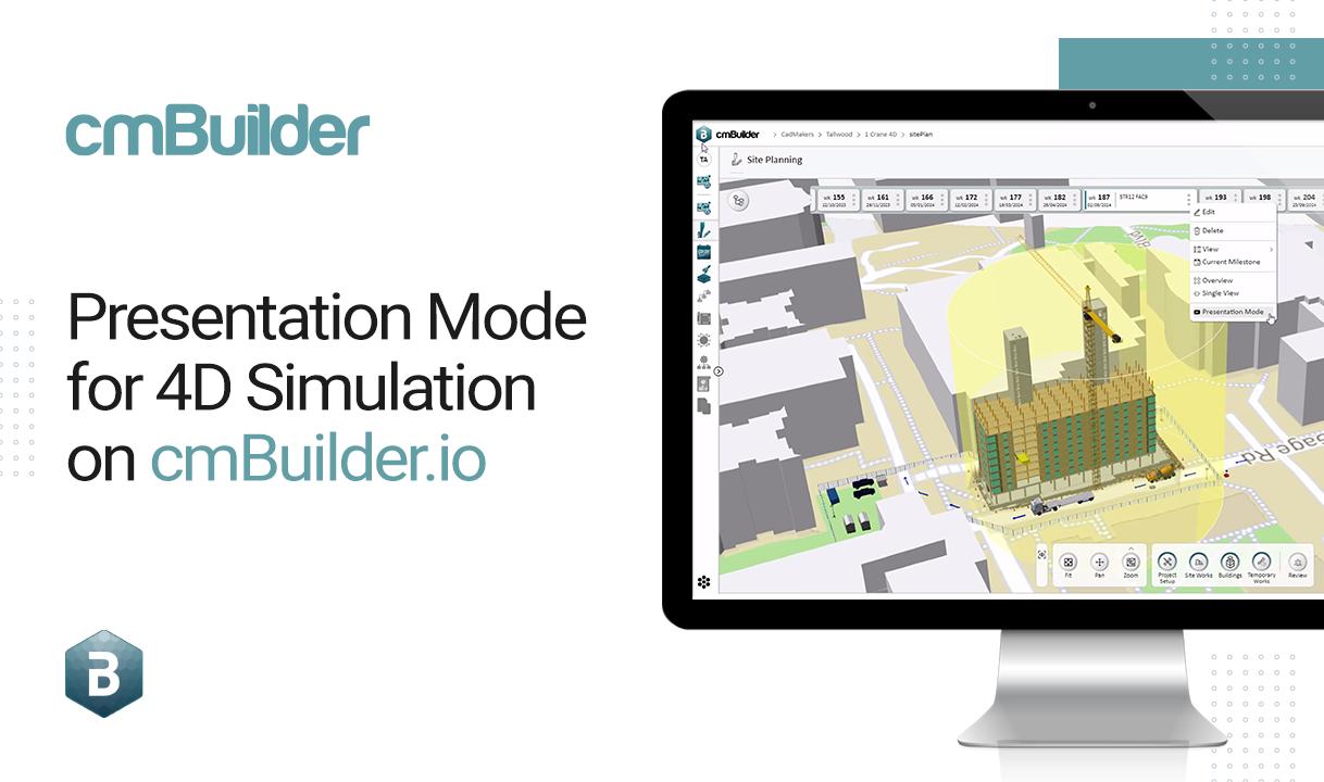 Presentation Mode on cmBuiler.io