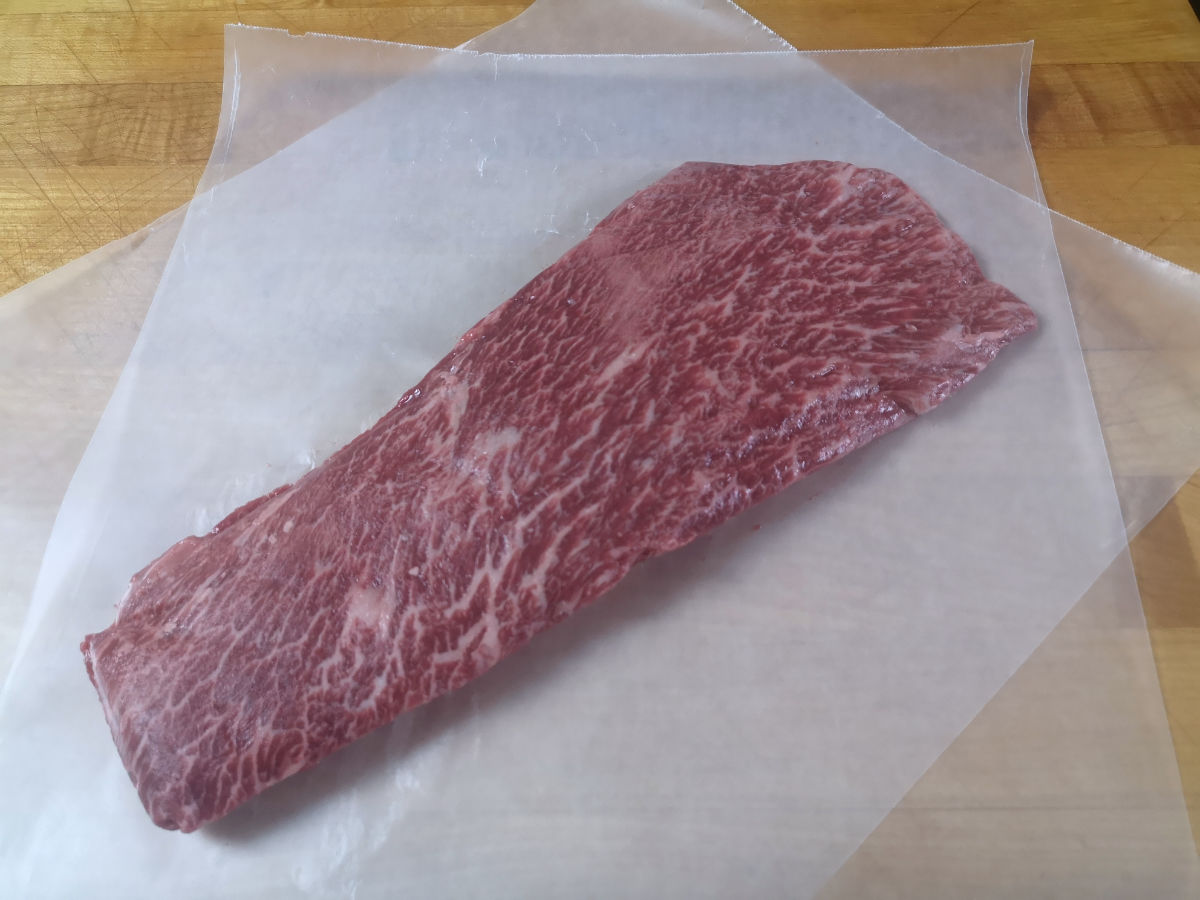 Wagyu Flat Iron Steak (14-18oz)
