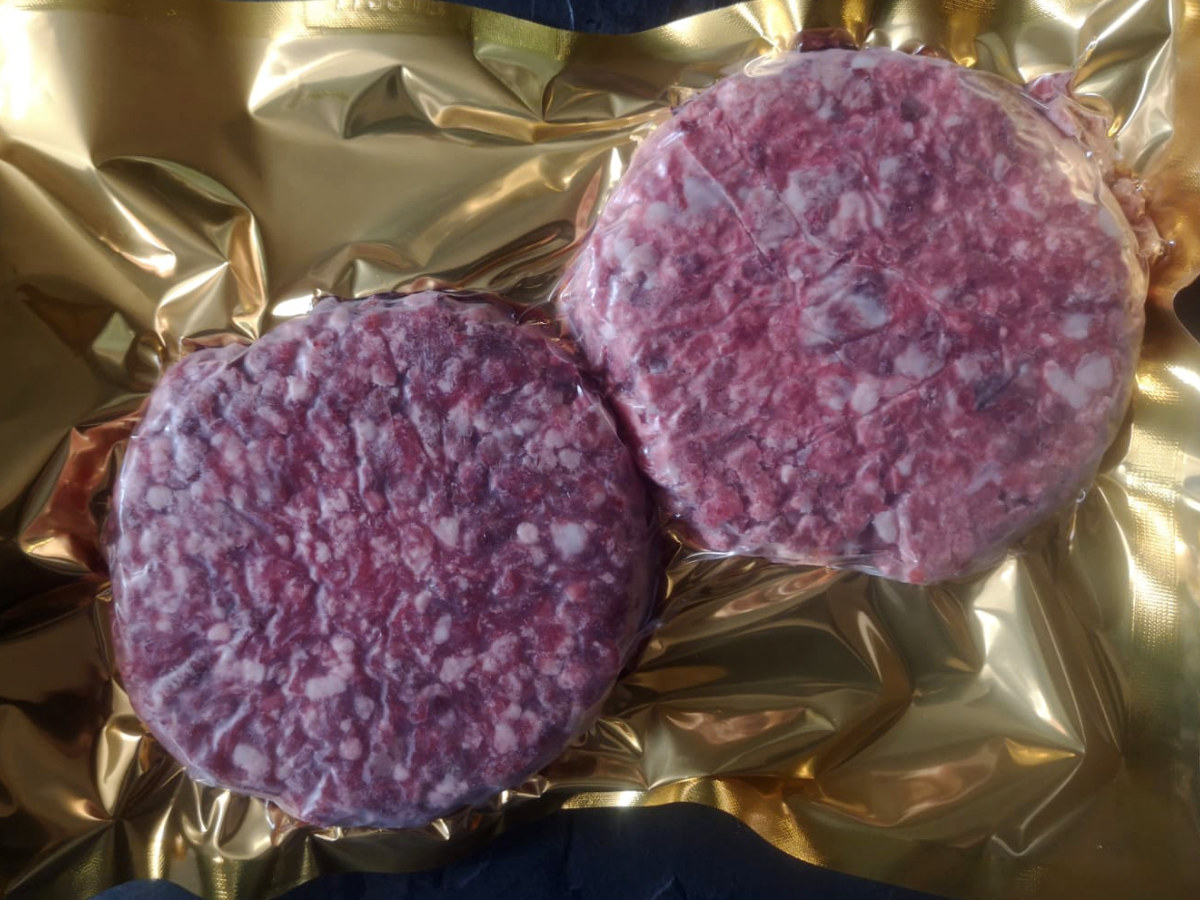 60 Day Dry Aged Sirloin Steak Burger (2/pk 6 oz each)
