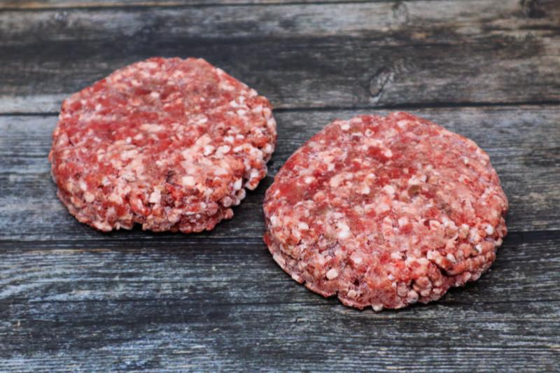 30 Day Dry Aged Grass Fed Steak Burger (2/pk)