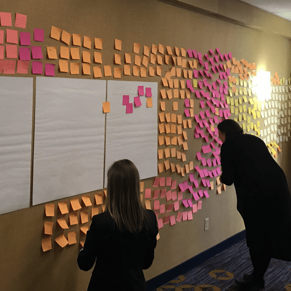 Affinity Diagramming for collaboratively sorting UX findings and design ideas