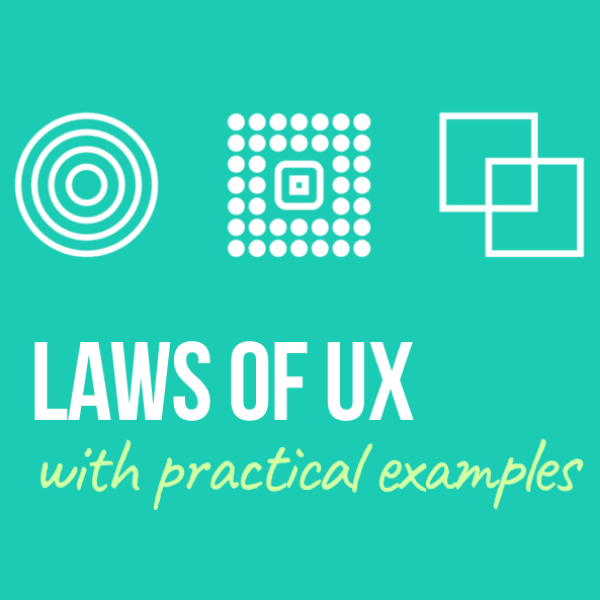 UX Laws with practical examples