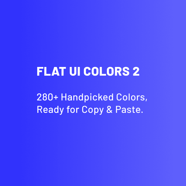 Flat UI Colors 2