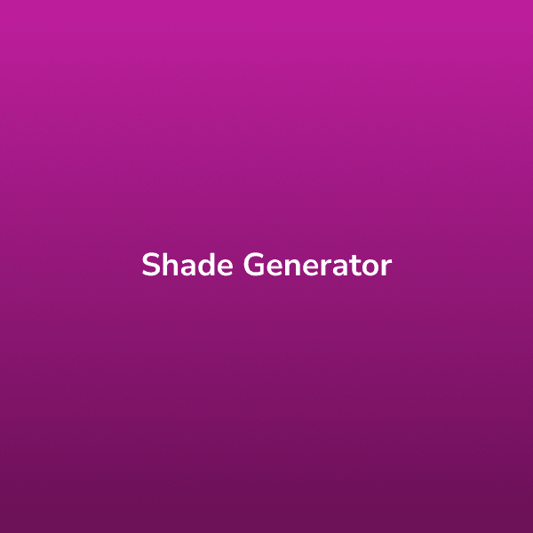 Shade Generator