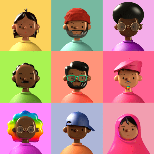 Toy Faces