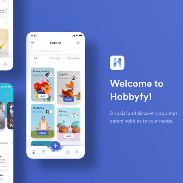 Hobbyfy | UI/UX Design