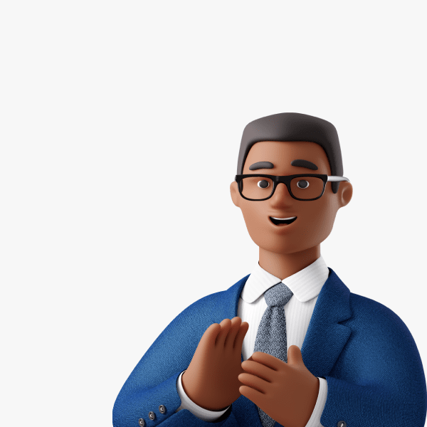 3D Business Characters by Icons8