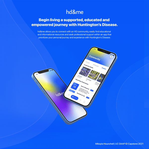 hd&me - Mobile App for the HD Community