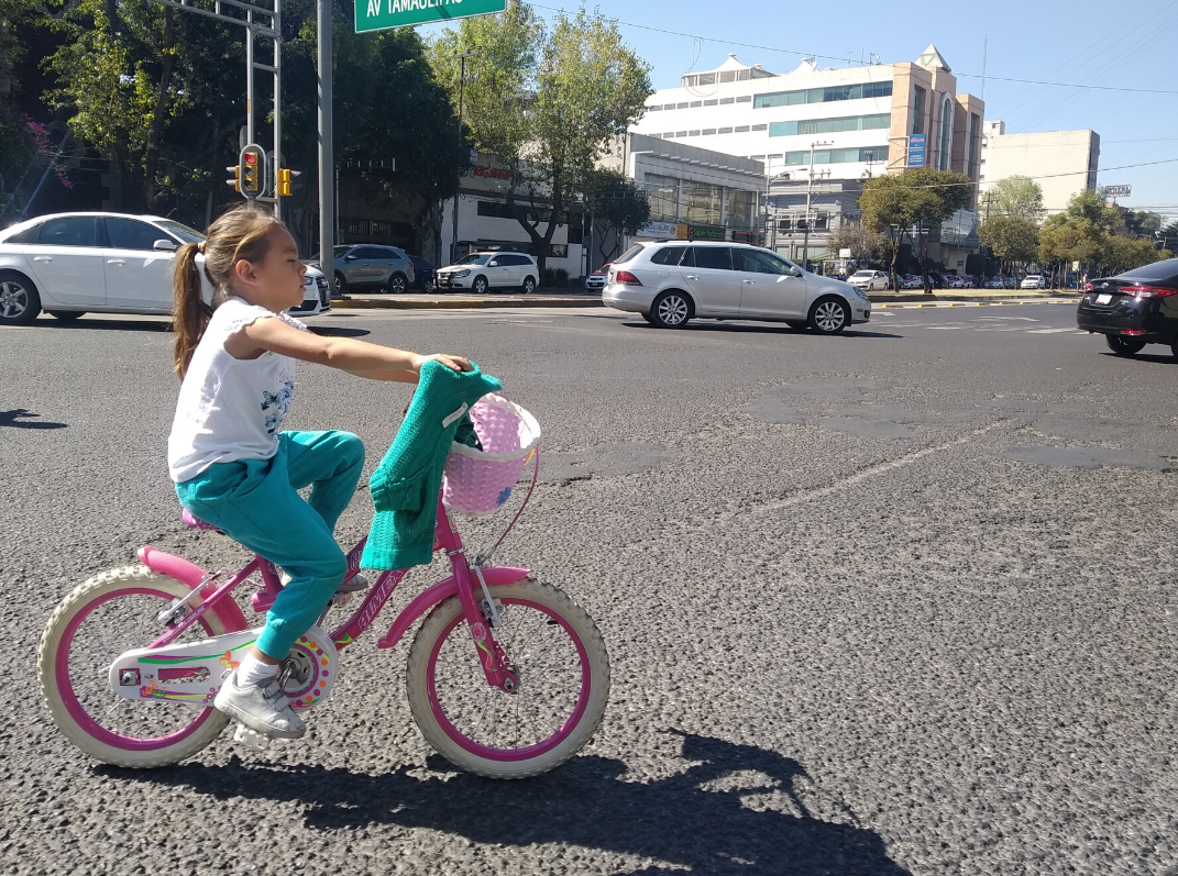 Women can cycle too! - Promoting cycling in Mexico City to improve health and reduce gender inequality