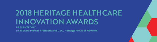 2018 Heritage Healthcare: Innovation in Healthcare Delivery Award