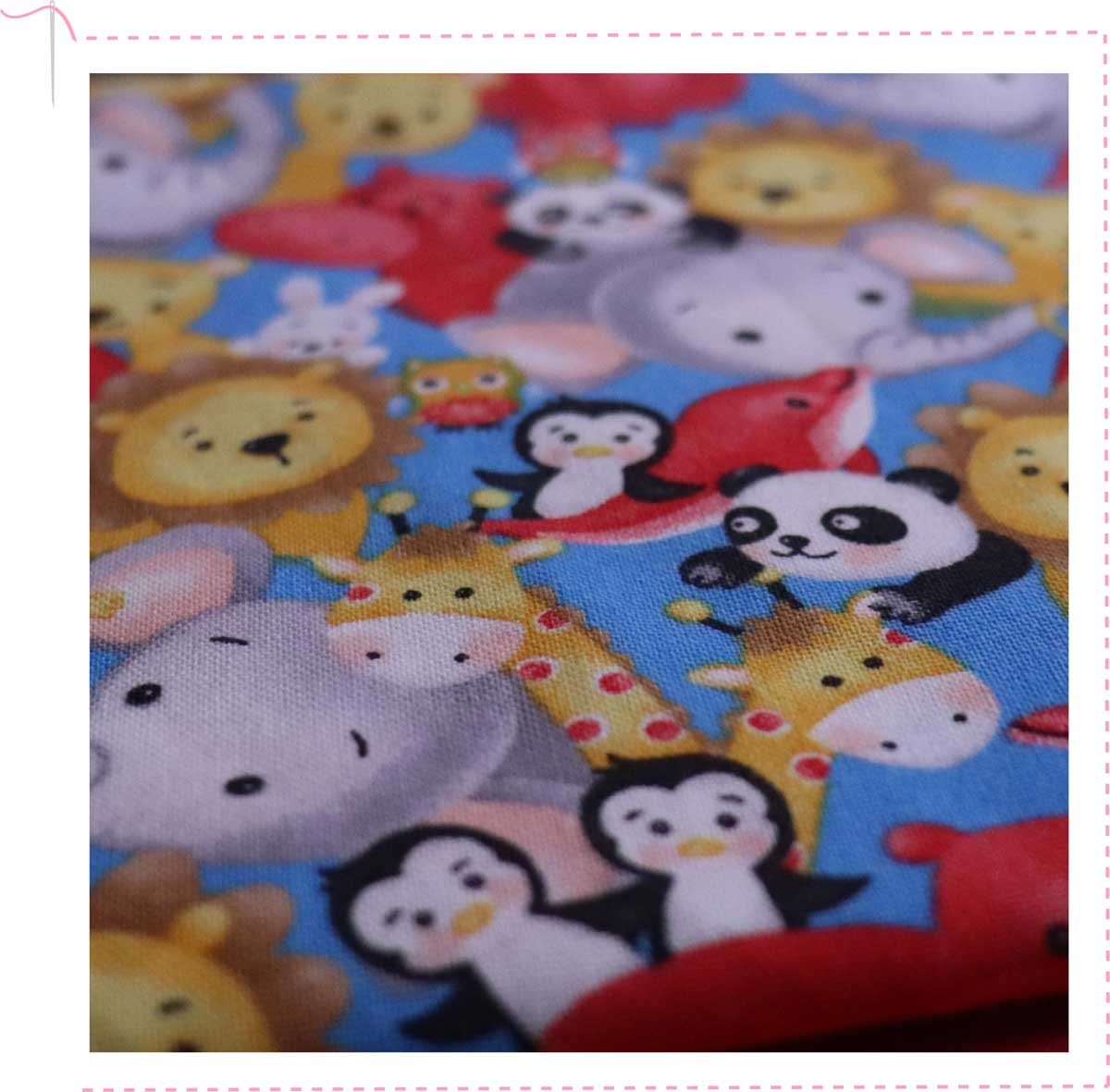 Fun fabric for Comfy Cases.