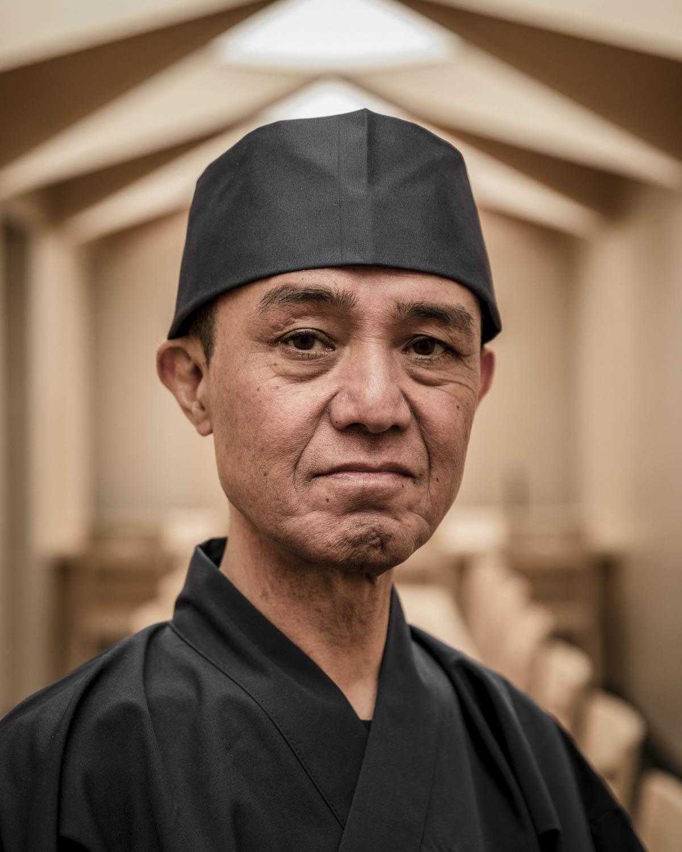 Portrait du chef