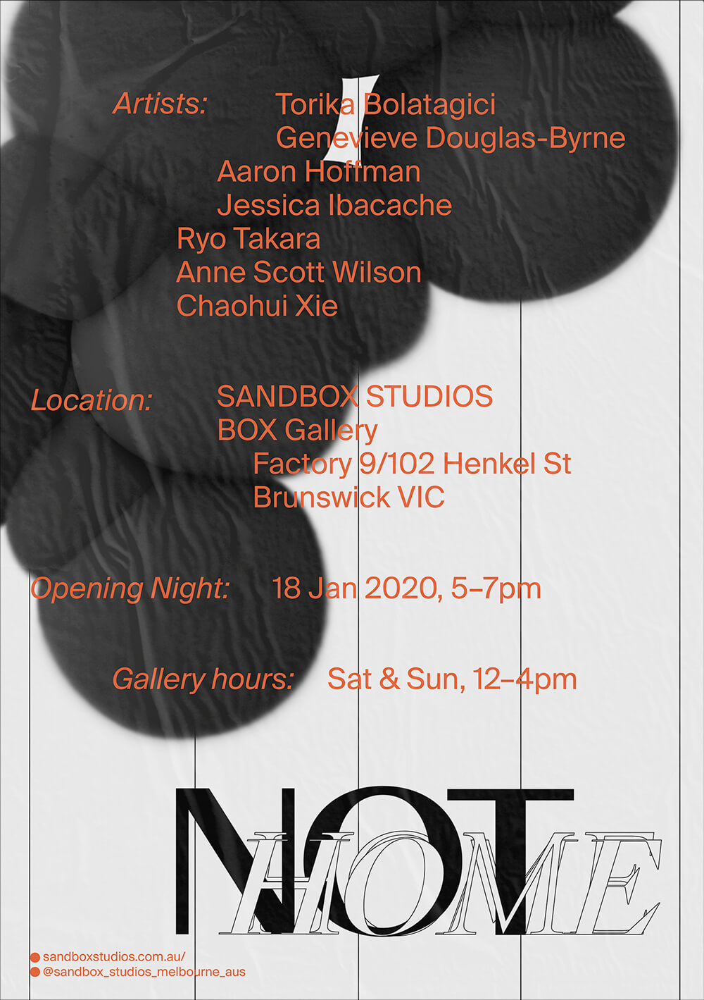 Not Home Exhibition
