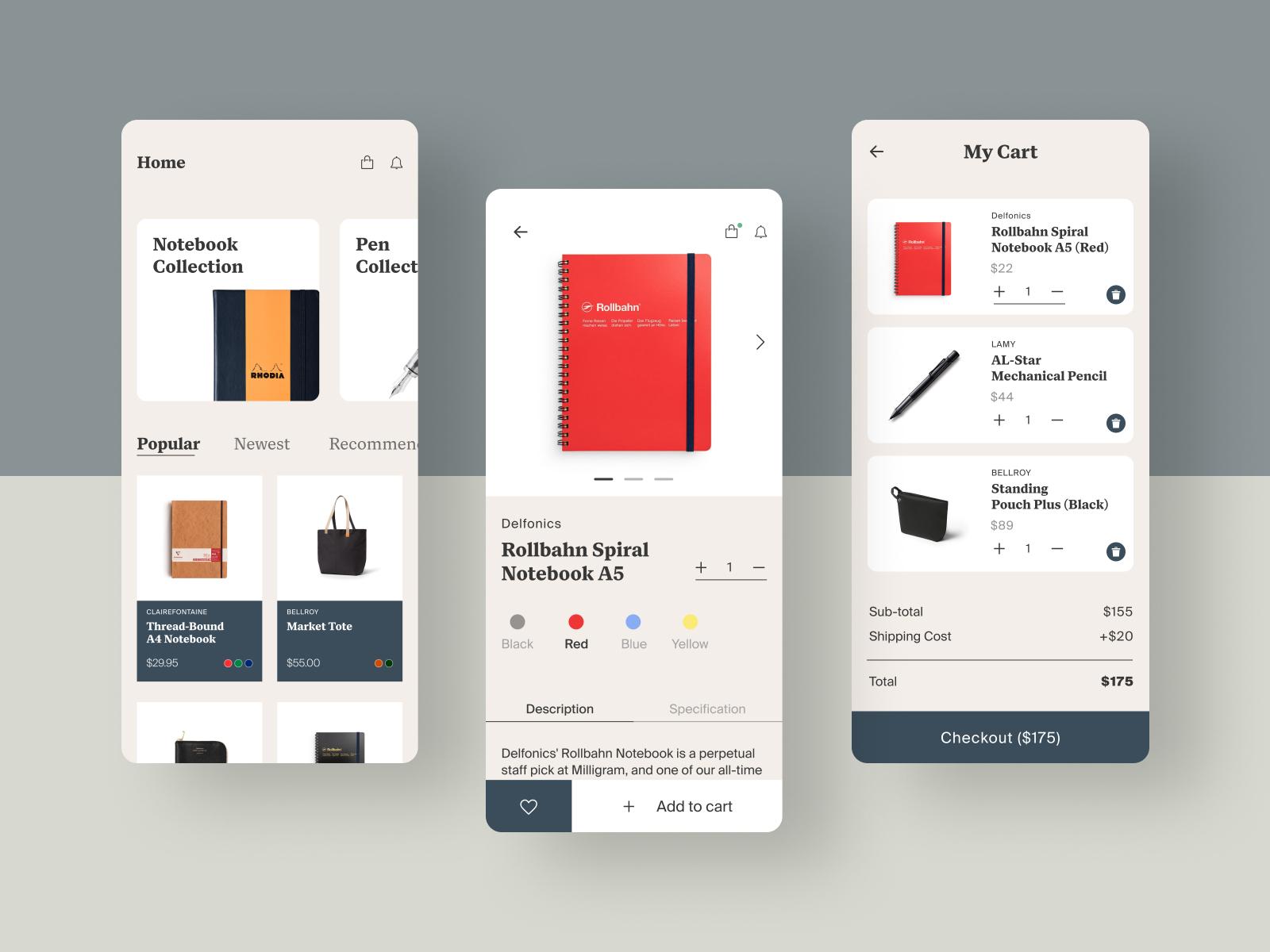 Stationery app