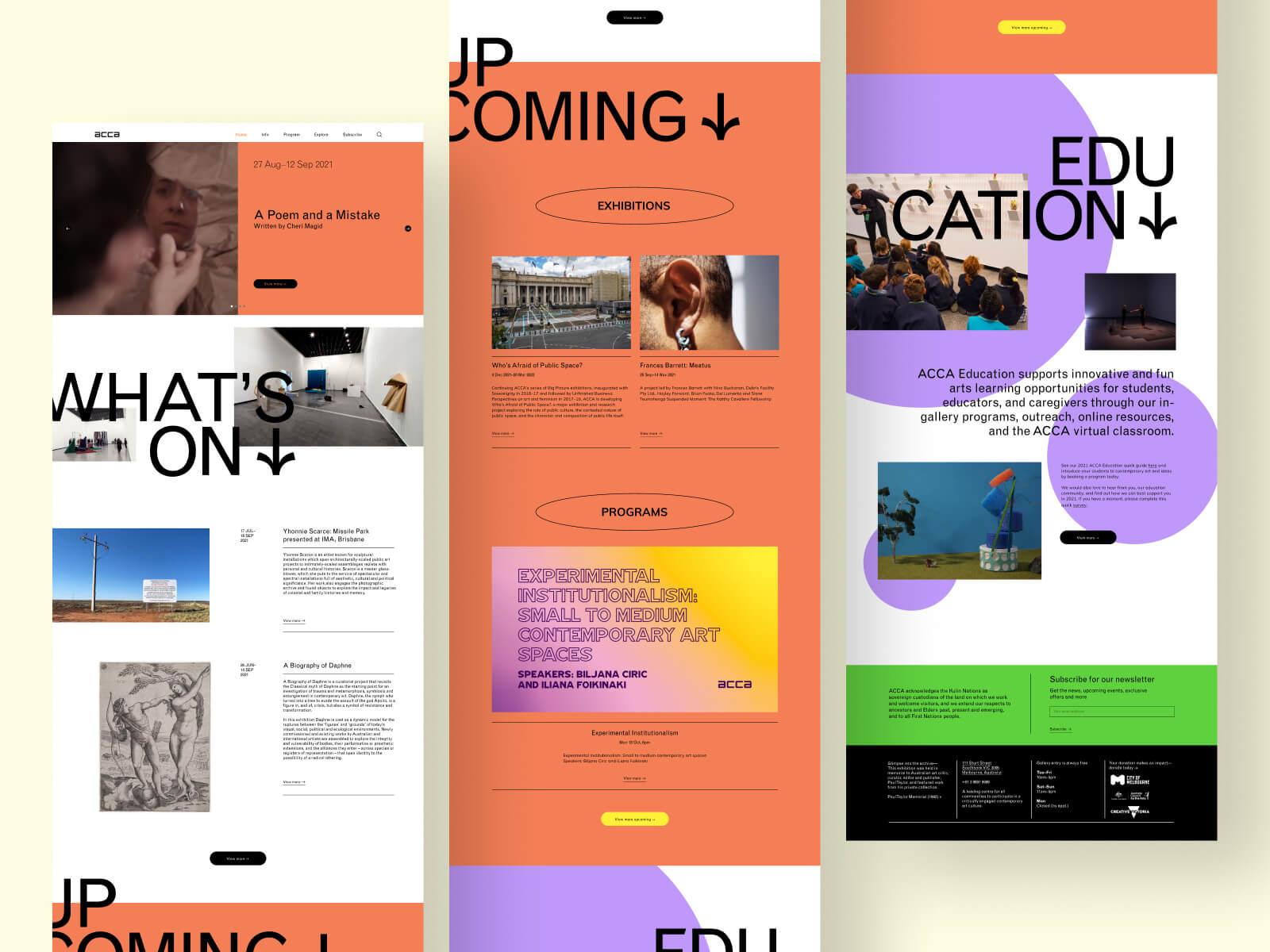 ACCA UI Design