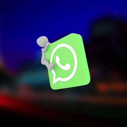 adding contacts to WhatsApp group near pool