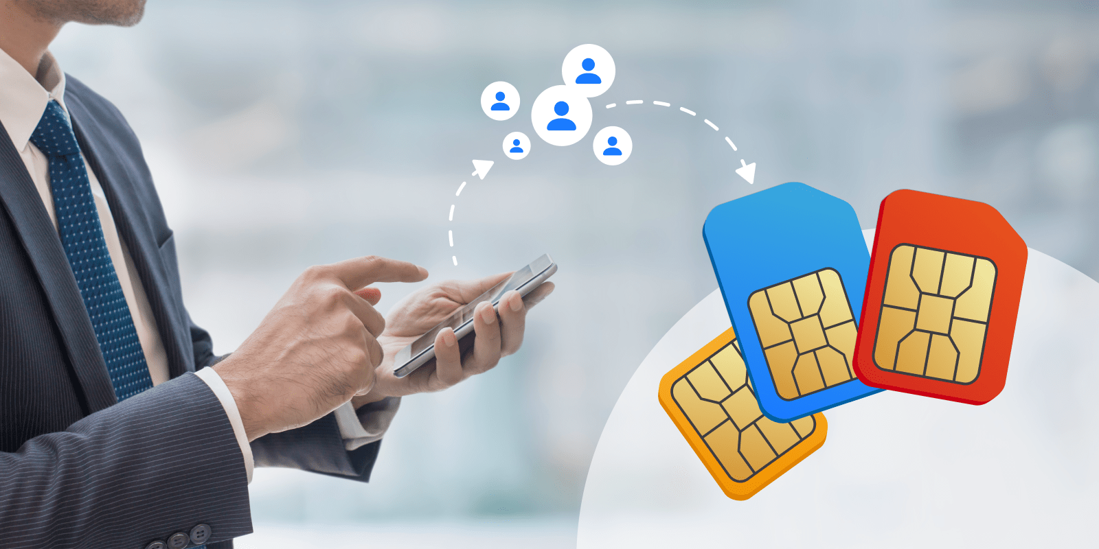 How to transfer contacts from phone to SIM card on Samsung?