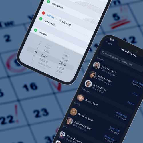 How to use the iPhone birthday reminder properly? – Nection