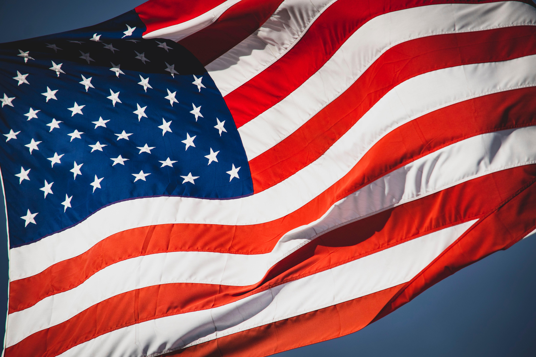An American flag