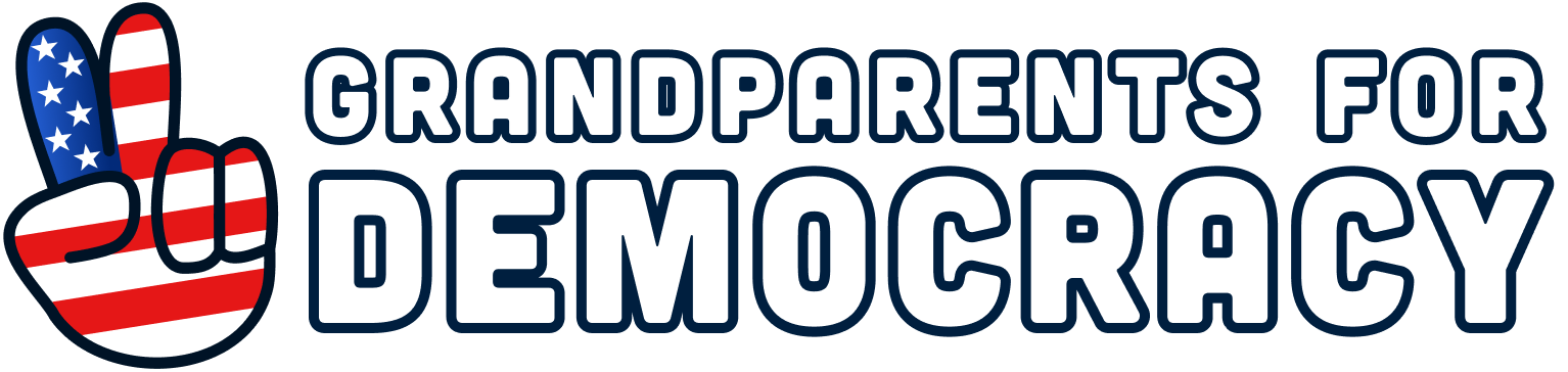 Grandparents For Democracy Logo