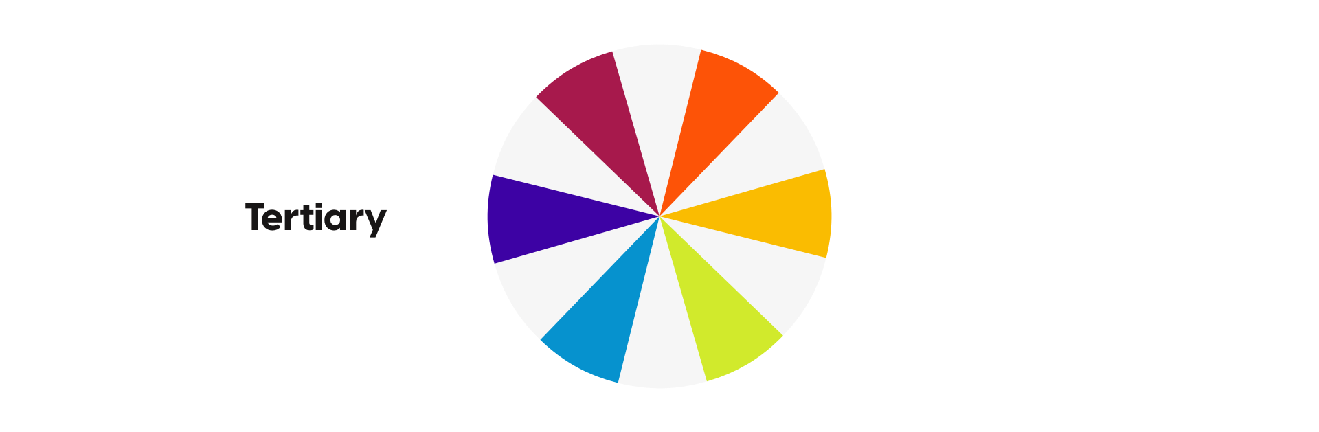 Picture of tertiary colors