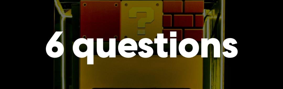6 questions - decorative image