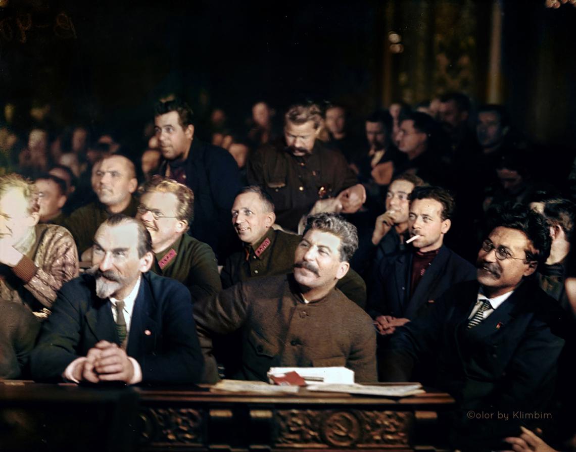 Stalin, Dec 1927   На XV съезде ВКП(б). Москва