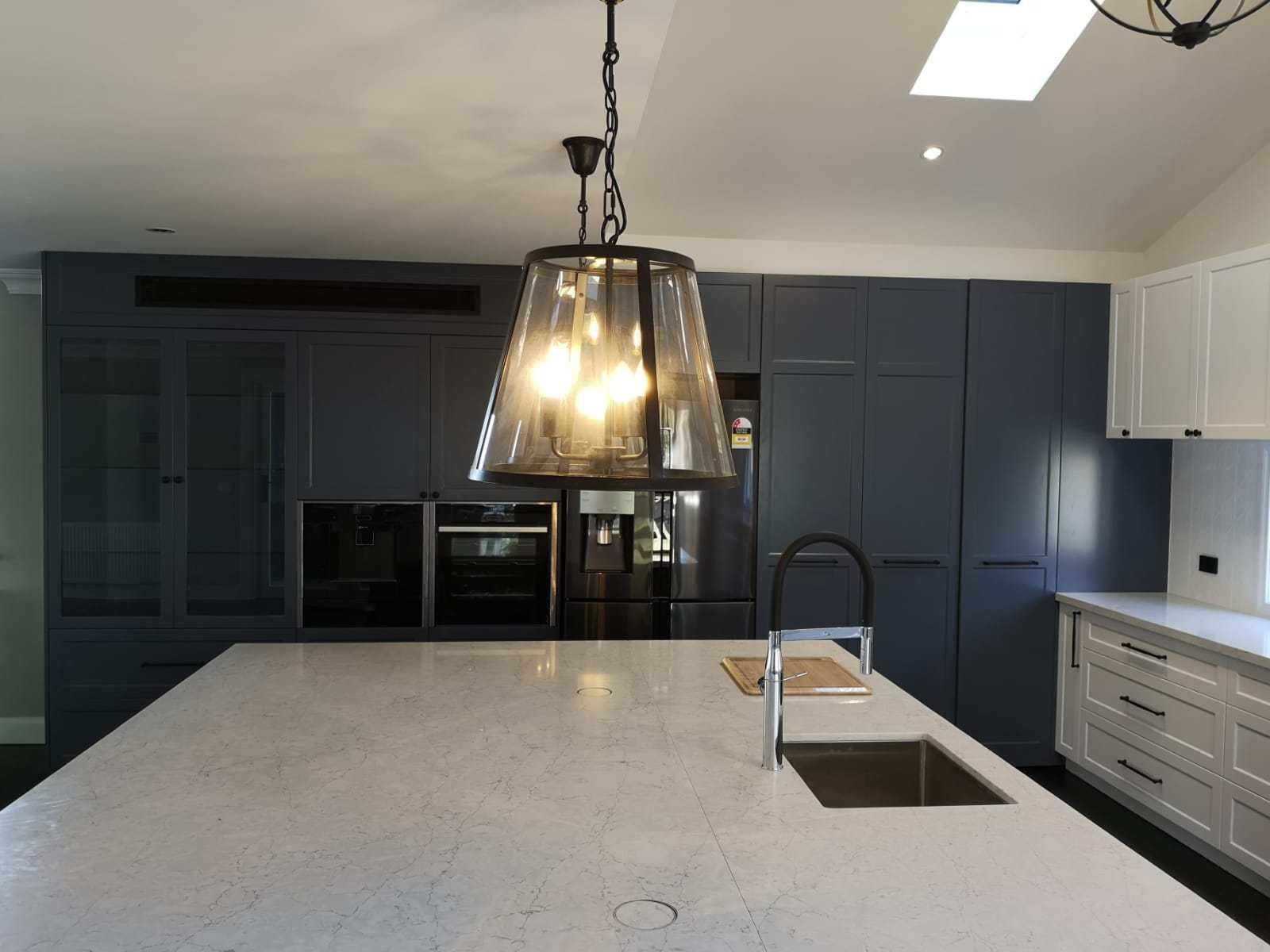 custom kitchen 2 pac shaker style