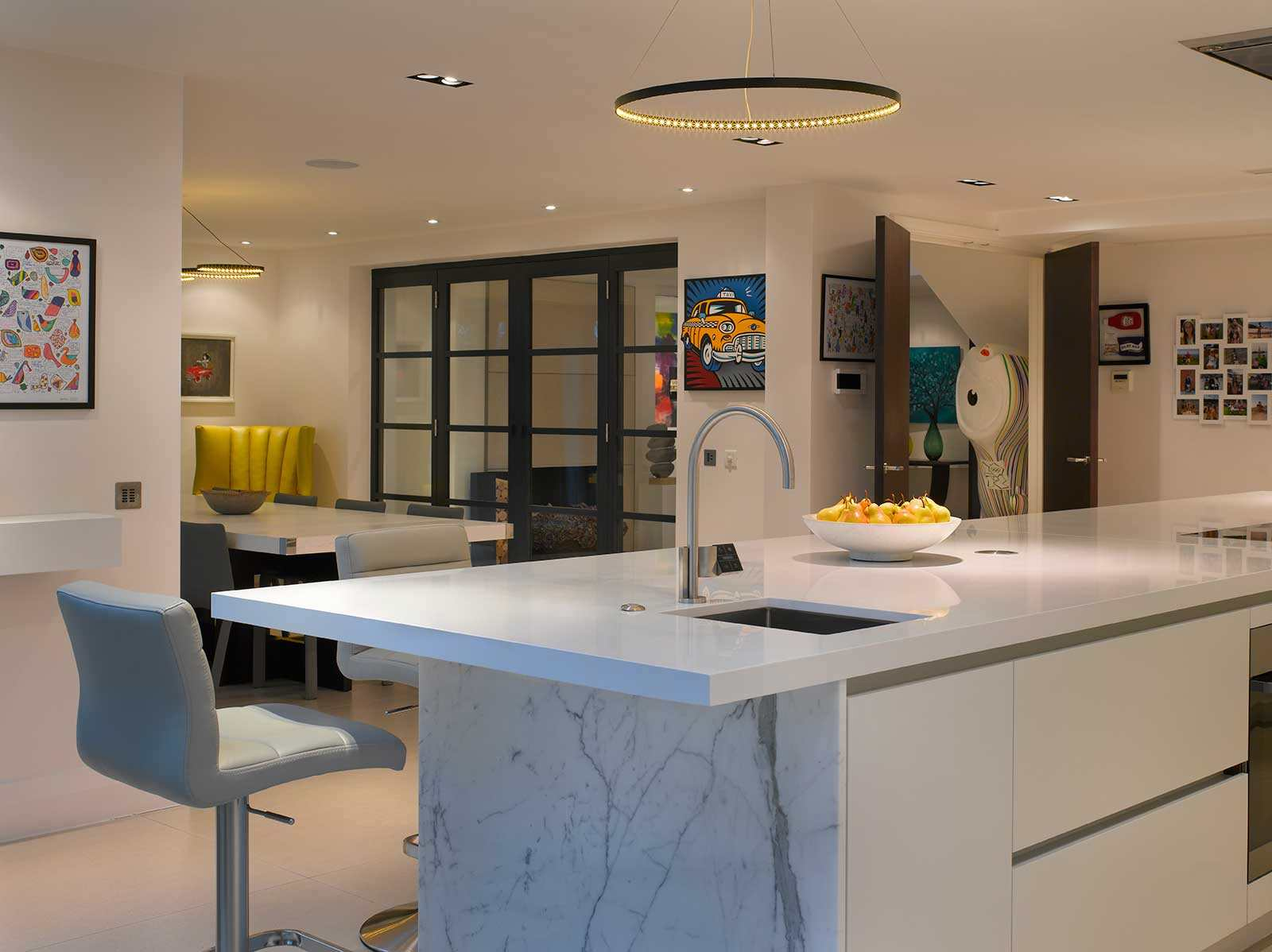 quantum quartz stone kitchen