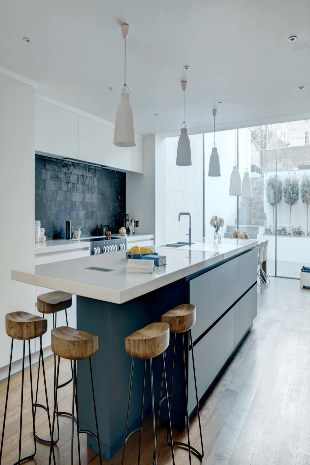 custom kitchen in 2 pac finish cabinet maker