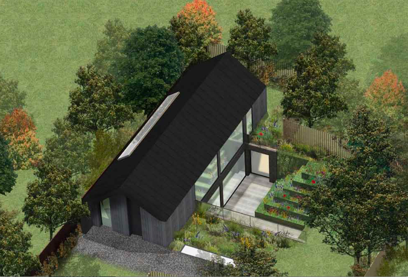 Permission granted for infill house on sensitive site