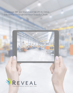 Leverage IBP or S&OP to Drive Efficiency Throughout Your Supply Chain