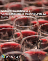 Material Forecasting as a Consumption Based Planning Strategy