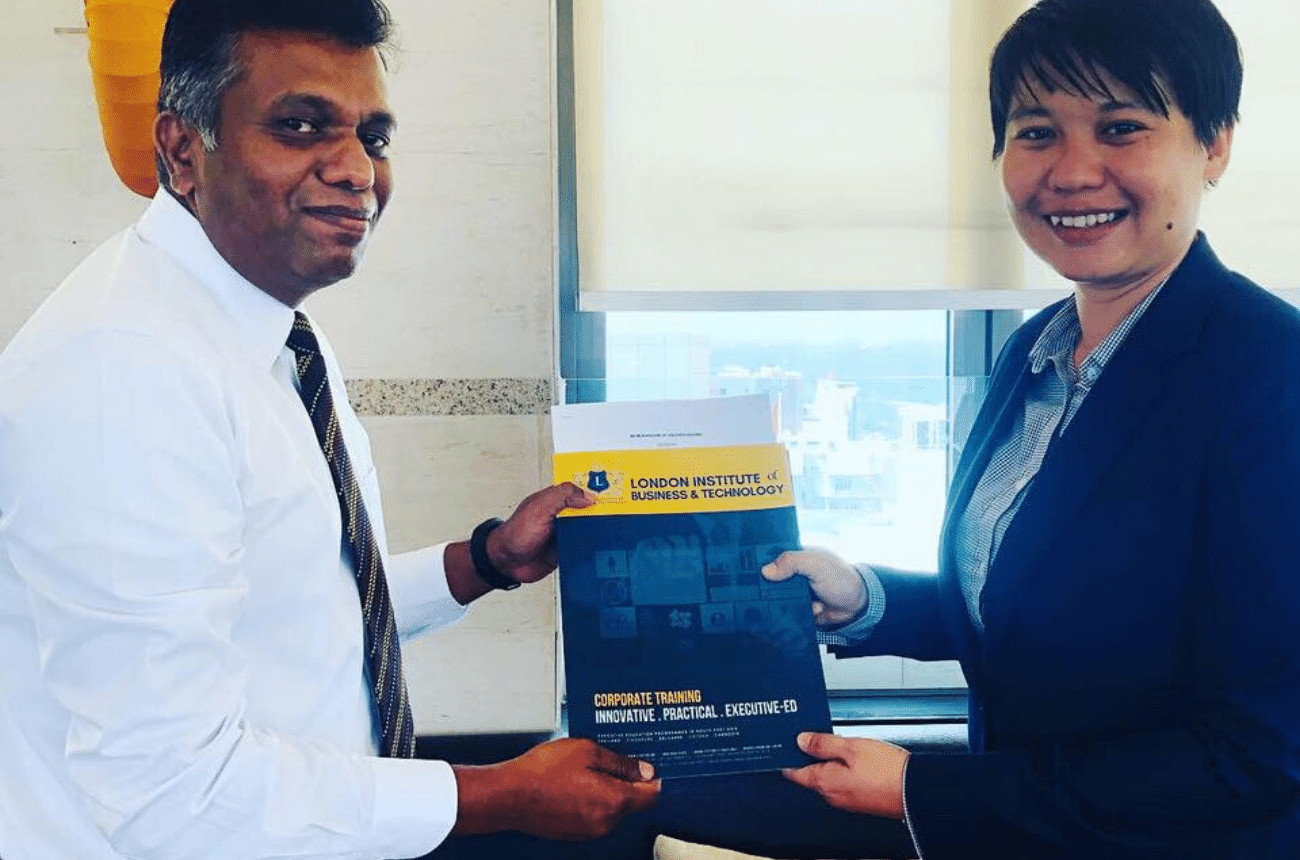 LIBT Signs an MOU with Focus Education Center, Maldives