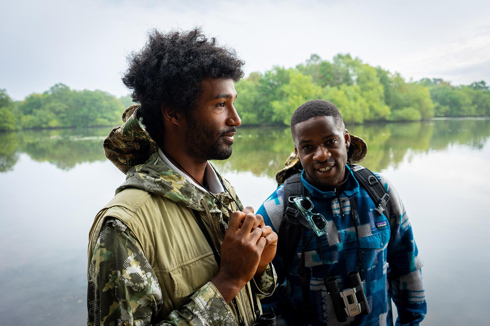 Flock Together founders Ollie Olanipekun and Nadeem Perera