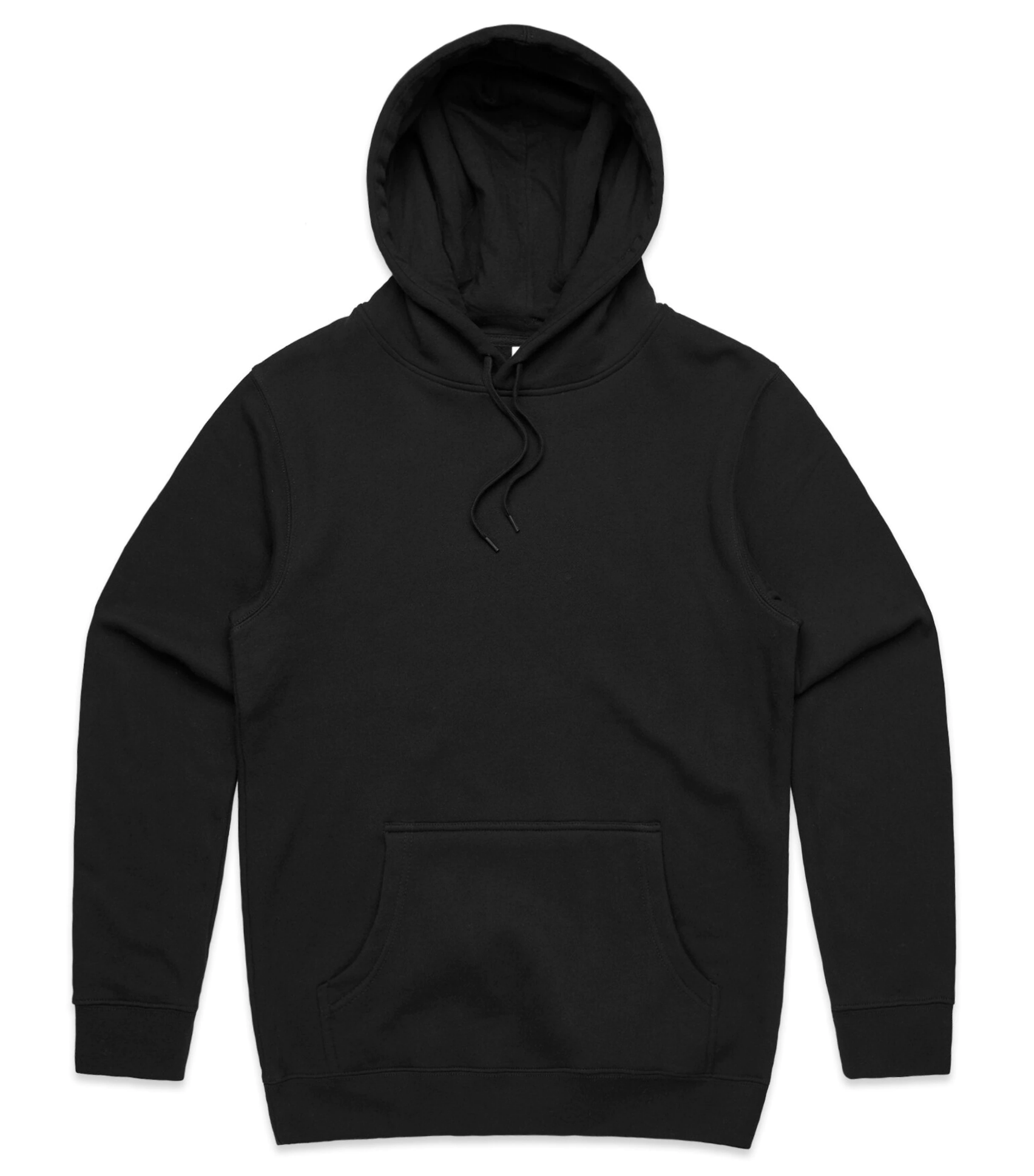 Black hoodie plain