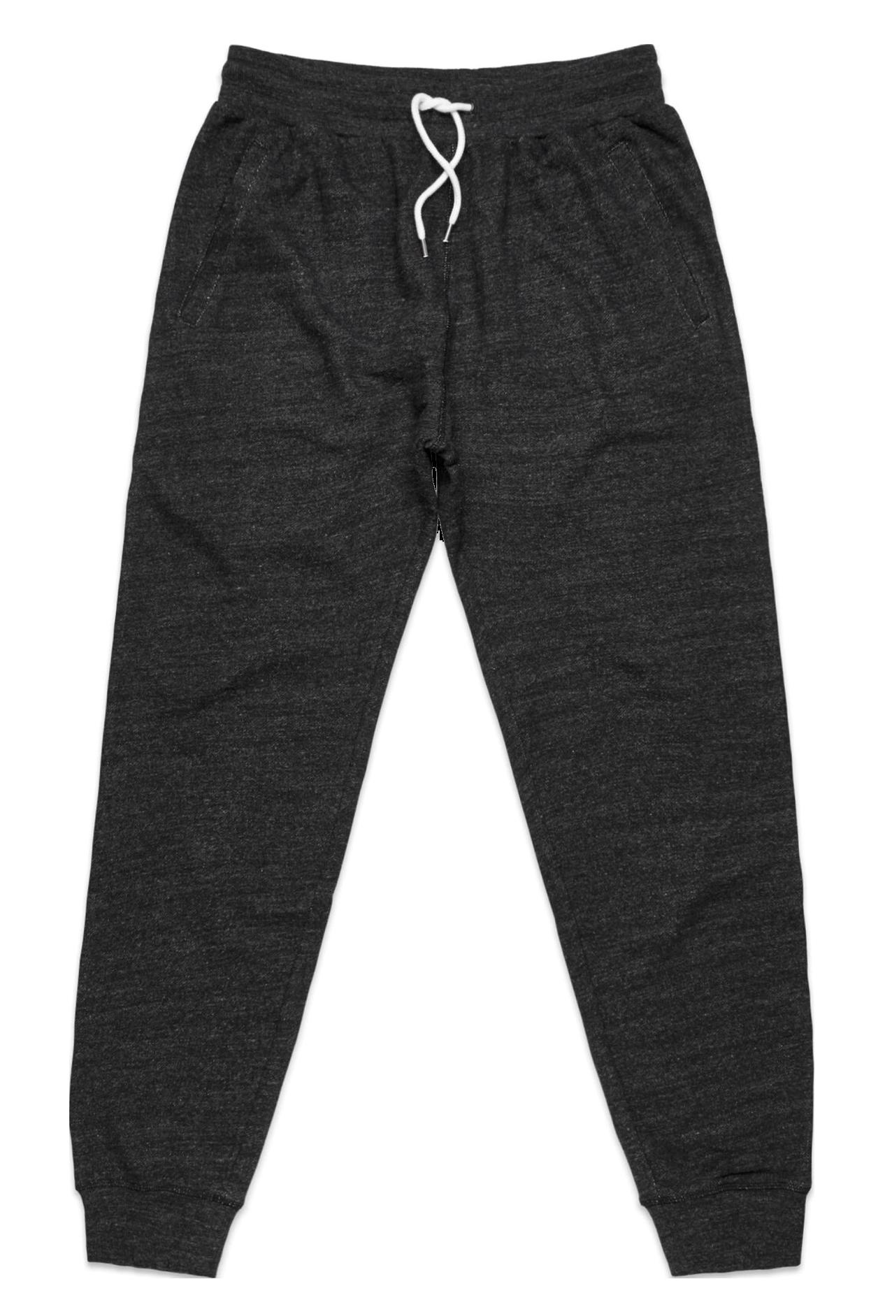 Black sweatpants plain PNG