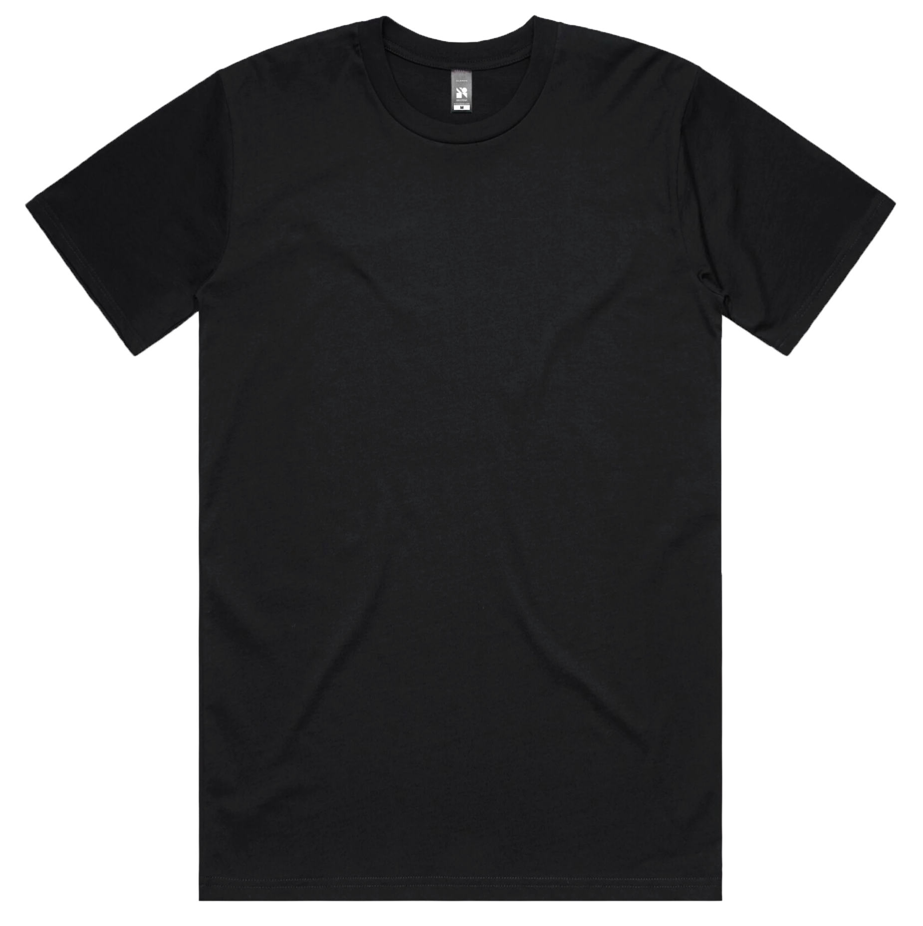 Black T-shirt Plain png