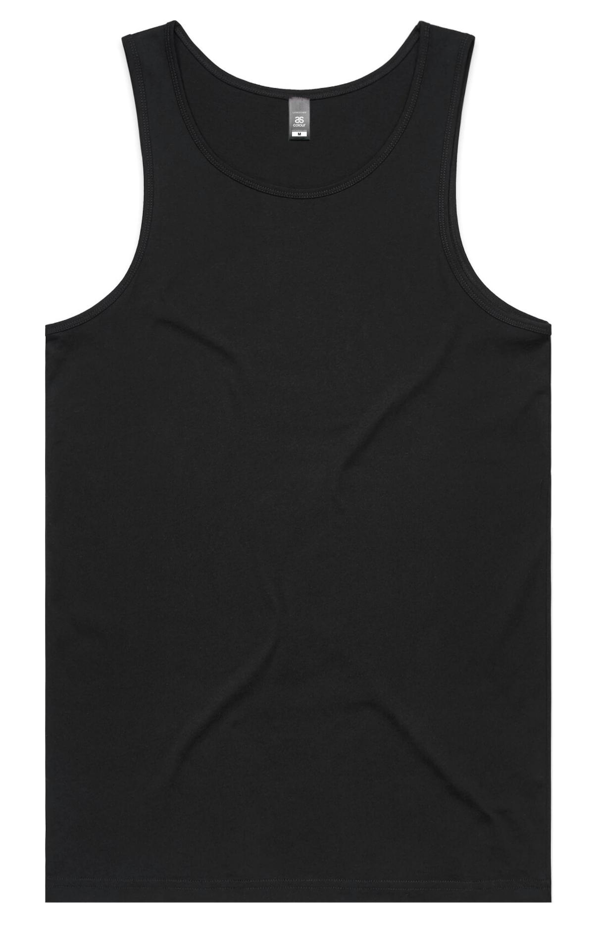 Black tank plain PNG