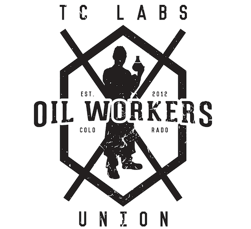 TC Labs Oil Workers Union custom graphic design for tees