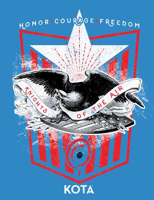 KOTA eagle custom design job