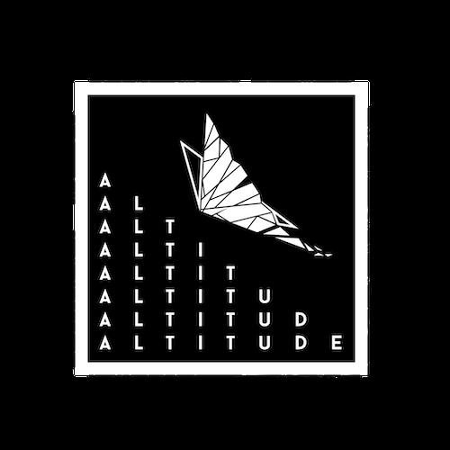 Altitude graphic design artwork