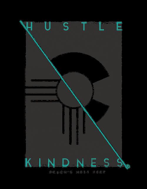 Hustle Kindness custom made artwork