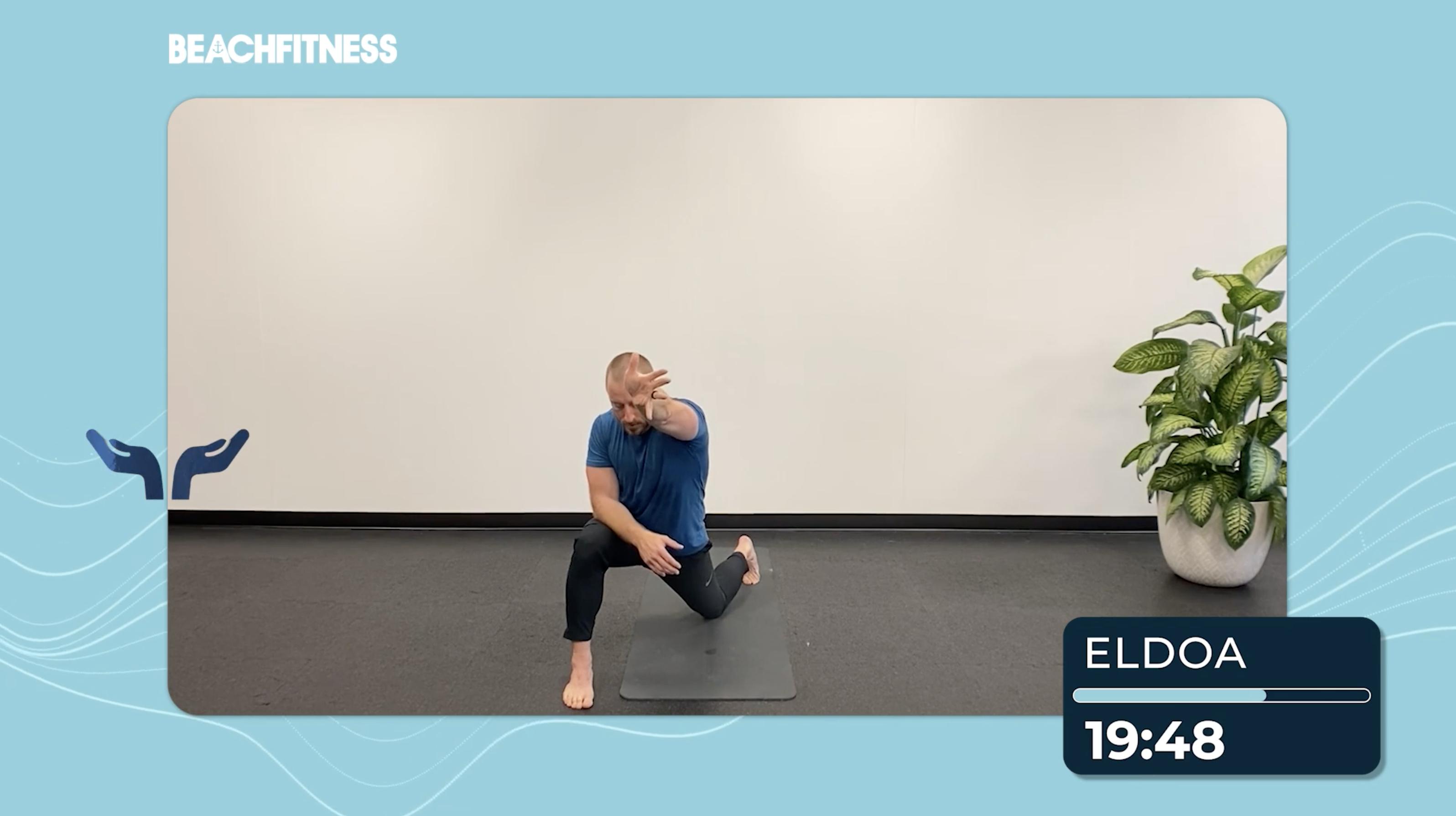 ELDOA   Psoas and Myofacial Static Stretching